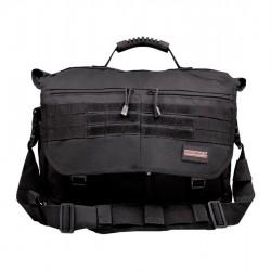 HUMVEE BRIEF CASE BAG BLACK